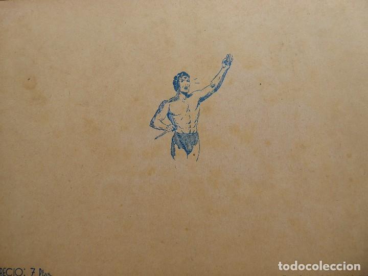 Tebeos: COMIC-12. TARZAN. ALBUM ROJO. NÚMERO 3 EDIT. HISPAMO AMERICANA. ORIGINAL AÑOS 40. - Foto 2 - 242881010