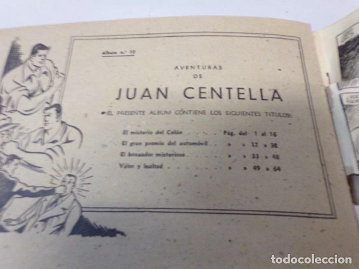 Tebeos: juan centella album rojo nº. 10 - Foto 3 - 242885455