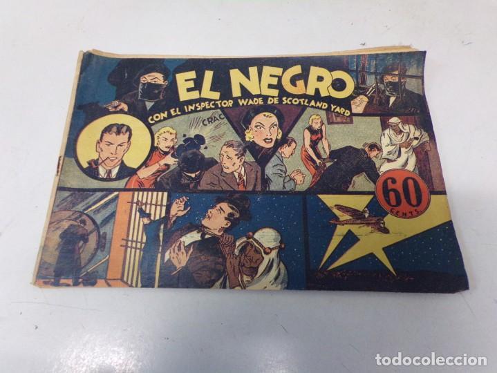 """EL INSPECTOR WADE DE SCOTLAND YARD - EL NEGRO """" HISPANO AMERICANA DE EDICIONES (Tebeos y Comics - Hispano Americana - Otros)"""