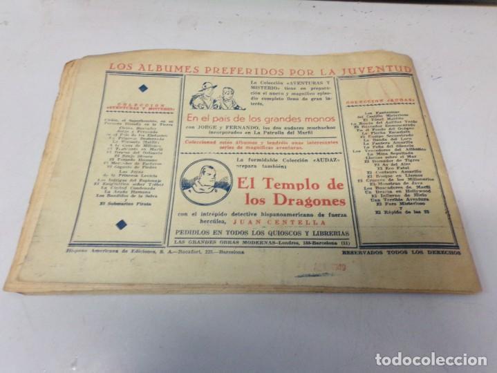 """Tebeos: EL INSPECTOR WADE DE SCOTLAND YARD - EL NEGRO """" HISPANO AMERICANA DE EDICIONES - Foto 4 - 242889655"""