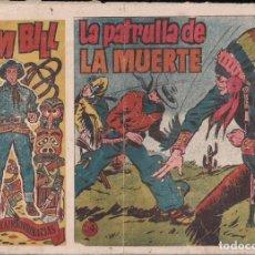 Tebeos: TOM BILL Nº 24: LA PATRULLA DE LA MUERTE. Lote 243606440