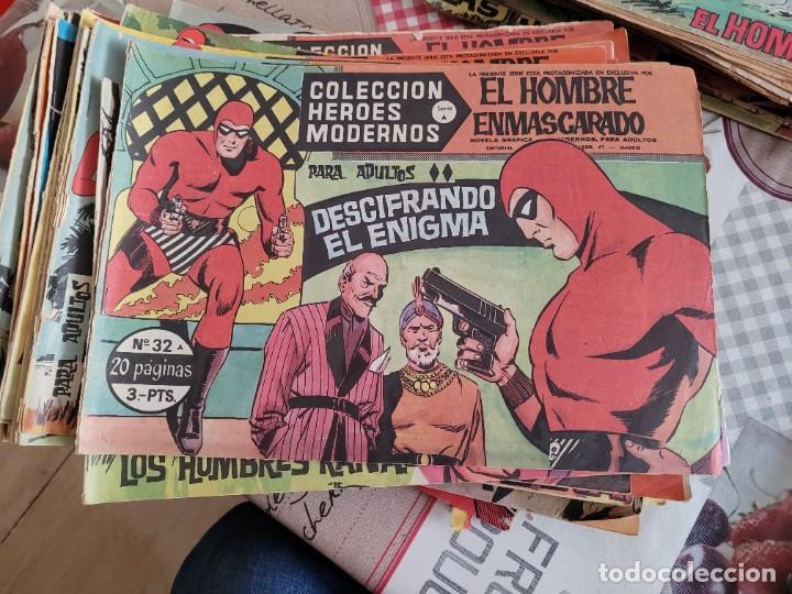 COLECCION EL HOMBRE ENMASCARADO EDITORIAL DOLAR 1-75 (Tebeos y Comics - Hispano Americana - Hombre Enmascarado)
