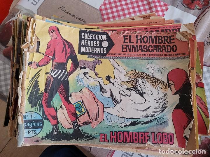 Tebeos: COLECCION EL HOMBRE ENMASCARADO EDITORIAL DOLAR 1-75 - Foto 2 - 244014725