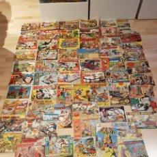 Tebeos: GRAN LOTE DE 179 TEBEOS COMICS ANTIGUOS AÑOS 50 60. Lote 244607020