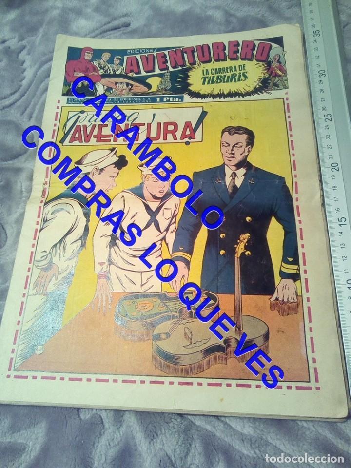 EDICIONES AVENTURERO 15 HISPANO AMERICANA DE EDICIONES TEBEO TB1 (Tebeos y Comics - Hispano Americana - Otros)