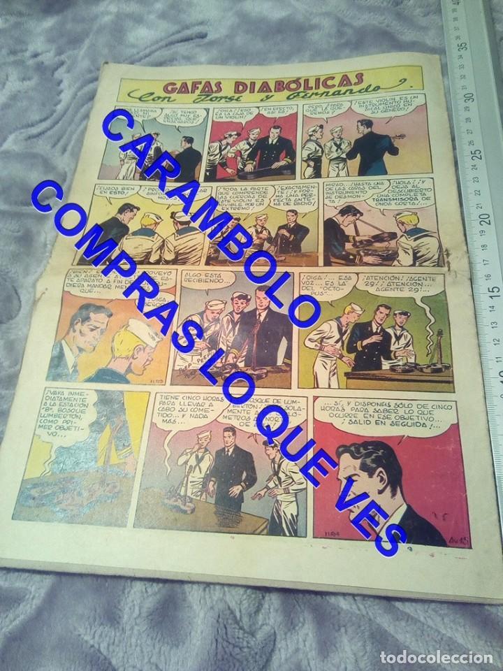 Tebeos: EDICIONES AVENTURERO 15 HISPANO AMERICANA DE EDICIONES TEBEO TB1 - Foto 2 - 245501380