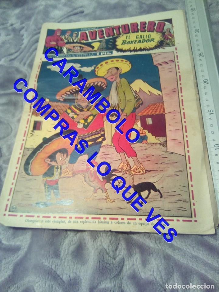 EDICIONES AVENTURERO 16 HISPANO AMERICANA DE EDICIONES TEBEO TB1 (Tebeos y Comics - Hispano Americana - Otros)