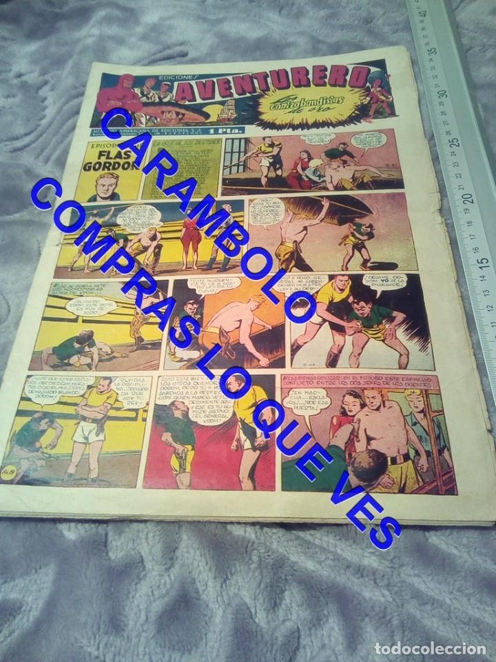 EDICIONES AVENTURERO 19 HISPANO AMERICANA DE EDICIONES TEBEO TB1 (Tebeos y Comics - Hispano Americana - Otros)