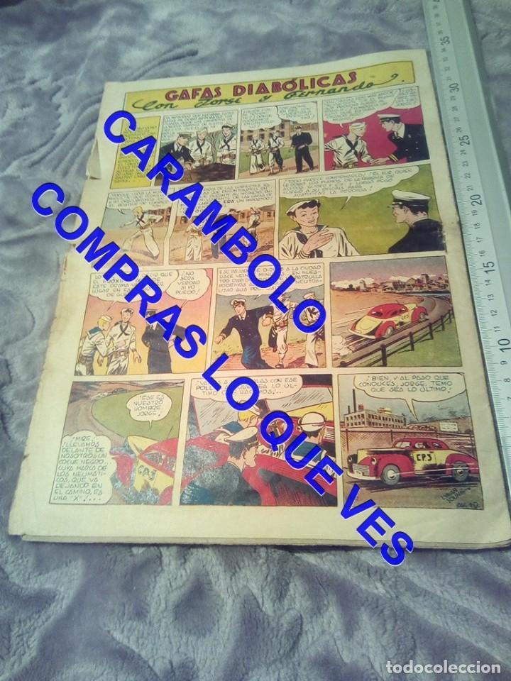 Tebeos: EDICIONES AVENTURERO 19 HISPANO AMERICANA DE EDICIONES TEBEO TB1 - Foto 2 - 245501525