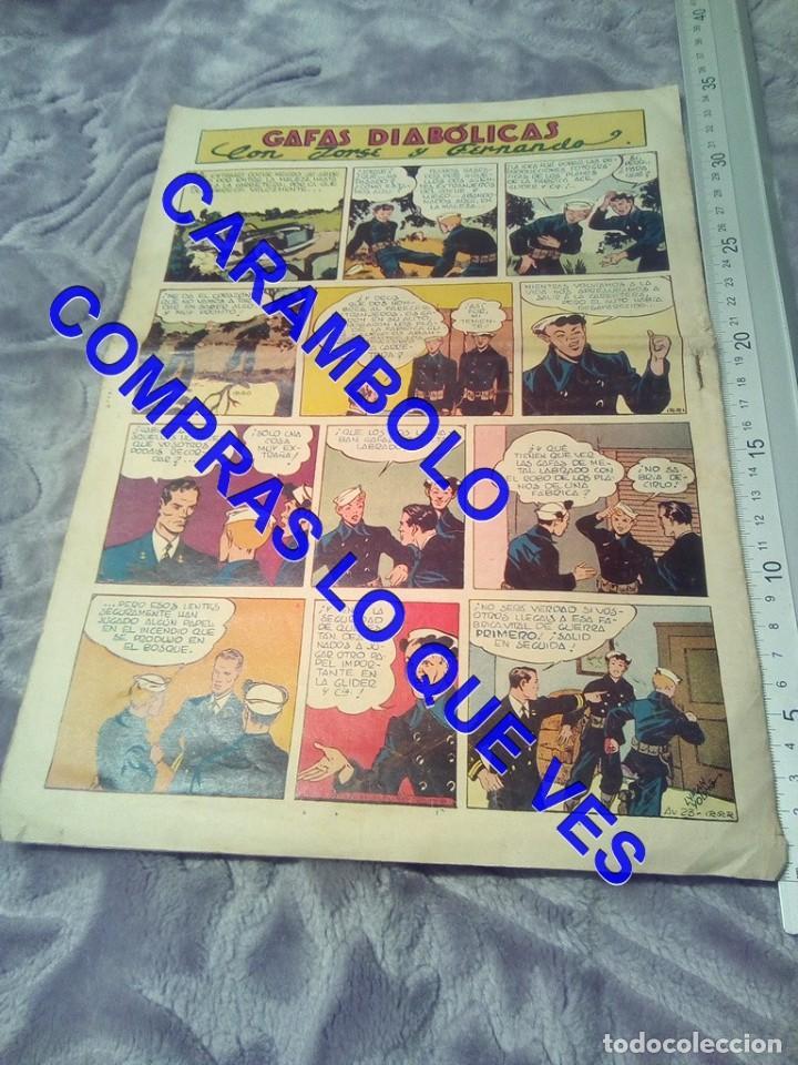 Tebeos: EDICIONES AVENTURERO 23 HISPANO AMERICANA DE EDICIONES TEBEO TB1 - Foto 2 - 245501660
