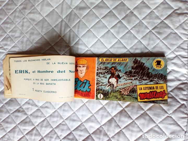 Tebeos: Erik el Hombre del Norte Lote de 17 tebeos (3 al 19 ) en un tomo HISPANOAMERICANA Año 1952 - Foto 3 - 245623065