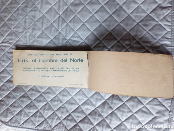 Tebeos: Erik el Hombre del Norte Lote de 17 tebeos (3 al 19 ) en un tomo HISPANOAMERICANA Año 1952 - Foto 7 - 245623065