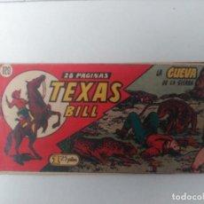 Tebeos: TEXAS BILL Nº120. Lote 246065425