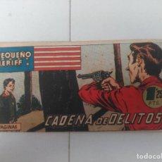 Tebeos: EL PEQUEÑO SHERIFF Nº47. Lote 246248045