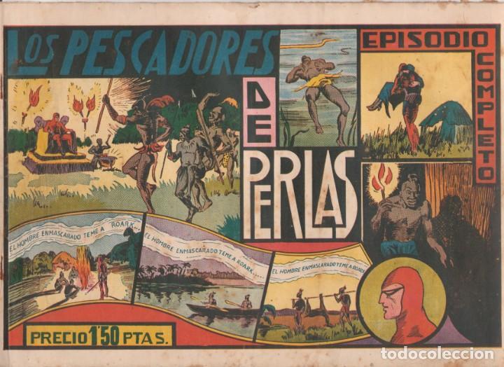 """COMIC APAISADO, EL HOMBRE ENMASCARADO """" LOS PESCADORES DE PERLAS """" ORIGINAL HISPANO-AMERICANAAÑOS 40 (Tebeos y Comics - Hispano Americana - Hombre Enmascarado)"""
