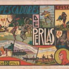"""Tebeos: COMIC APAISADO, EL HOMBRE ENMASCARADO """" LOS PESCADORES DE PERLAS """" ORIGINAL HISPANO-AMERICANAAÑOS 40. Lote 246597250"""