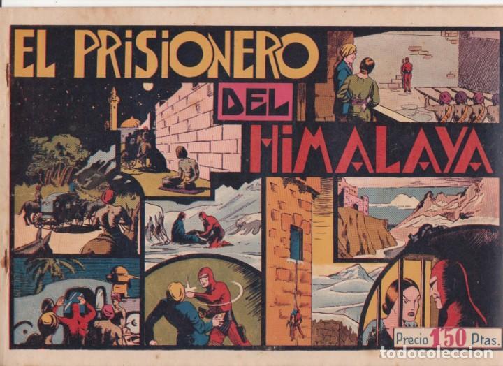 """COMIC APAISADO, EL HOMBRE ENMASCARADO """" EL PRISIONERO DEL HIMALAYA """" ORIGINAL HISP. AMERICANAAÑOS 40 (Tebeos y Comics - Hispano Americana - Hombre Enmascarado)"""