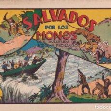 Tebeos: COMIC JORGE Y FERNANDO, SALVADOS POR LOS MONOS, HISPANO AMERICANA DE EDICIONES (75 CTMS). Lote 246801265
