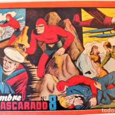 Tebeos: EL HOMBRE ENMASCARADO, TAPA ROJA NUM. 8 HISPANO AMERICANA 1946. Lote 246904190