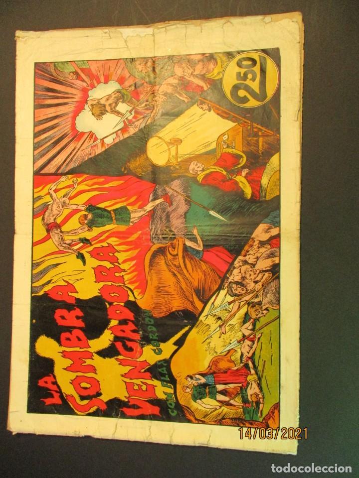 FLASH GORDON (1942, HISPANO AMERICANA) 4 · 1942 · LA SOMBRA VENGADORA (Tebeos y Comics - Hispano Americana - Flash Gordon)