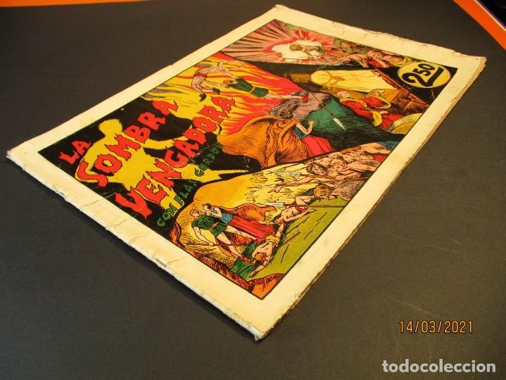 Tebeos: FLASH GORDON (1942, HISPANO AMERICANA) 4 · 1942 · LA SOMBRA VENGADORA - Foto 2 - 247910680