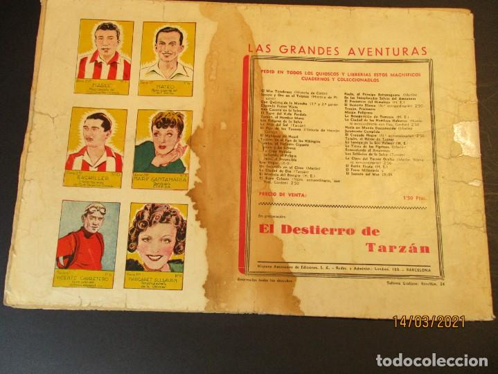 Tebeos: FLASH GORDON (1942, HISPANO AMERICANA) 4 · 1942 · LA SOMBRA VENGADORA - Foto 3 - 247910680
