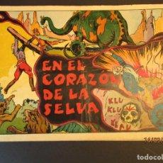 Tebeos: GRANDES AVENTURAS, LAS (1942, HISPANO AMERICANA) -EXTRA- 3 · 1942 · EN EL CORAZÓN DE LA SELVA. Lote 247912280