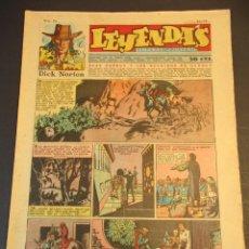 Tebeos: LEYENDAS INFANTILES (1942, SENDA / HISPANO AMERICANA) 151 · 24-IV-1945 · LEYENDAS INFANTILES / LEYE. Lote 247923850