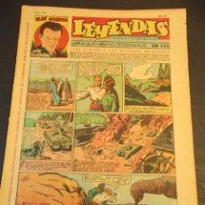 Tebeos: LEYENDAS INFANTILES (1942, SENDA / HISPANO AMERICANA) 152 · 1-V-1945 · LEYENDAS INFANTILES / LEYENDA. Lote 247924890