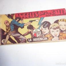 Tebeos: ANGELES DE LA CALLE Nº 10 HISPANOAMERICANA ORIGINAL. Lote 247995820