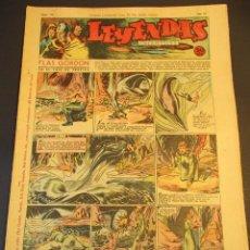 Tebeos: LEYENDAS INFANTILES (1942, SENDA / HISPANO AMERICANA) 118 · 2-IX-1944 · LEYENDAS INFANTILES / LEYEN. Lote 248666930