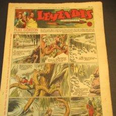 Tebeos: LEYENDAS INFANTILES (1942, SENDA / HISPANO AMERICANA) 116 · 25-VII-1944 · LEYENDAS INFANTILES / LEYE. Lote 248675375