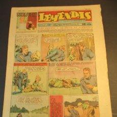 Tebeos: LEYENDAS INFANTILES (1942, SENDA / HISPANO AMERICANA) 166 · 8-IX-1945 · LEYENDAS INFANTILES / LEYEN. Lote 248677175