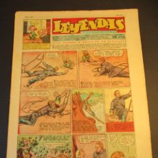Tebeos: LEYENDAS INFANTILES (1942, SENDA / HISPANO AMERICANA) 165 · 1-IX-1945 · LEYENDAS INFANTILES / LEYEND. Lote 248686505