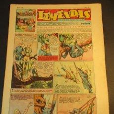 Tebeos: LEYENDAS INFANTILES (1942, SENDA / HISPANO AMERICANA) 164 · 24-VII-1945 · LEYENDAS INFANTILES / LEYE. Lote 248686935