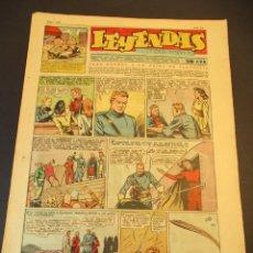 Tebeos: LEYENDAS INFANTILES (1942, SENDA / HISPANO AMERICANA) 162 · 10-VII-1945 · LEYENDAS INFANTILES / LEYE. Lote 248693915