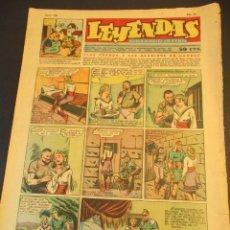 Tebeos: LEYENDAS INFANTILES (1942, SENDA / HISPANO AMERICANA) 156 · 29-V-1945 · LEYENDAS INFANTILES / LEYEND. Lote 248695155