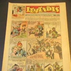 Tebeos: LEYENDAS INFANTILES (1942, SENDA / HISPANO AMERICANA) 155 · 22-V-1945 · LEYENDAS INFANTILES / LEYEN. Lote 248700860