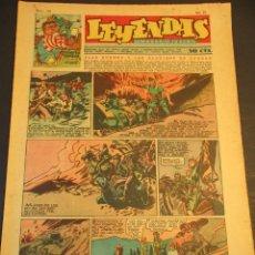 Tebeos: LEYENDAS INFANTILES (1942, SENDA / HISPANO AMERICANA) 154 · 15-V-1945 · LEYENDAS INFANTILES / LEYEND. Lote 248705675
