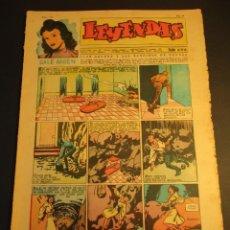 Tebeos: LEYENDAS INFANTILES (1942, SENDA / HISPANO AMERICANA) 147 · 24-III-1945 · LEYENDAS INFANTILES / LEYE. Lote 248723845