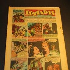 Tebeos: LEYENDAS INFANTILES (1942, SENDA / HISPANO AMERICANA) 149 · 7-IV-1945 · LEYENDAS INFANTILES / LEYEND. Lote 248746740