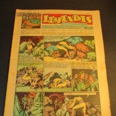 Tebeos: LEYENDAS INFANTILES (1942, SENDA / HISPANO AMERICANA) 148 · 31-III-1945 · LEYENDAS INFANTILES / LEY. Lote 248747465