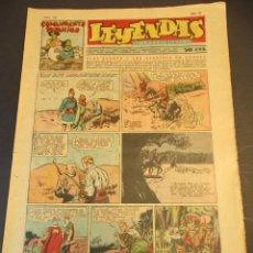 Tebeos: LEYENDAS INFANTILES (1942, SENDA / HISPANO AMERICANA) 153 · 8-V-1945 · LEYENDAS INFANTILES / LEYENDA. Lote 248748220