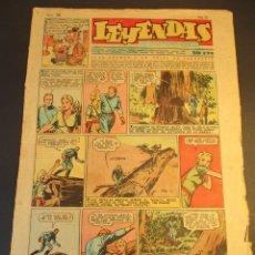 Tebeos: LEYENDAS INFANTILES (1942, SENDA / HISPANO AMERICANA) 169 · 29-IX-1945 · LEYENDAS INFANTILES / LEYE. Lote 248786715