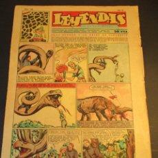 Tebeos: LEYENDAS INFANTILES (1942, SENDA / HISPANO AMERICANA) 168 · 22-IX-1945 · LEYENDAS INFANTILES / LEYEN. Lote 248787830