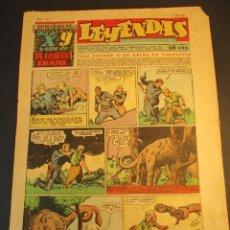 Tebeos: LEYENDAS INFANTILES (1942, SENDA / HISPANO AMERICANA) 167 · 15-IX-1945 · LEYENDAS INFANTILES / LEYEN. Lote 248790635