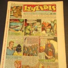 Tebeos: LEYENDAS INFANTILES (1942, SENDA / HISPANO AMERICANA) 161 · 3-VII-1945 · LEYENDAS INFANTILES / LEYEN. Lote 248791710