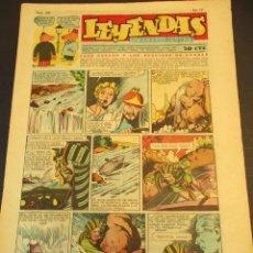 Tebeos: LEYENDAS INFANTILES (1942, SENDA / HISPANO AMERICANA) 160 · 26-VI-1945 · LEYENDAS INFANTILES / LEYEN. Lote 248793865