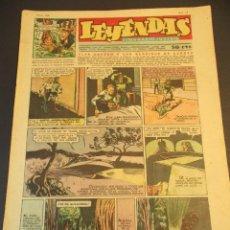 Tebeos: LEYENDAS INFANTILES (1942, SENDA / HISPANO AMERICANA) 158 · 12-VI-1945 · LEYENDAS INFANTILES / LEYEN. Lote 248936265
