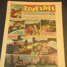 Tebeos: LEYENDAS INFANTILES (1942, SENDA / HISPANO AMERICANA) 159 · 19-VI-1945 · LEYENDAS INFANTILES / LEYEN. Lote 248936765
